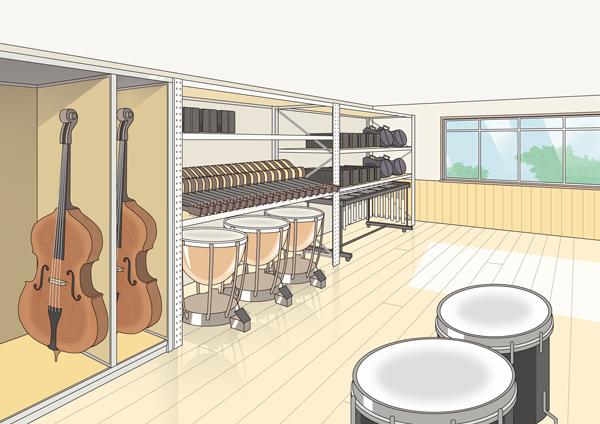 音楽準備室